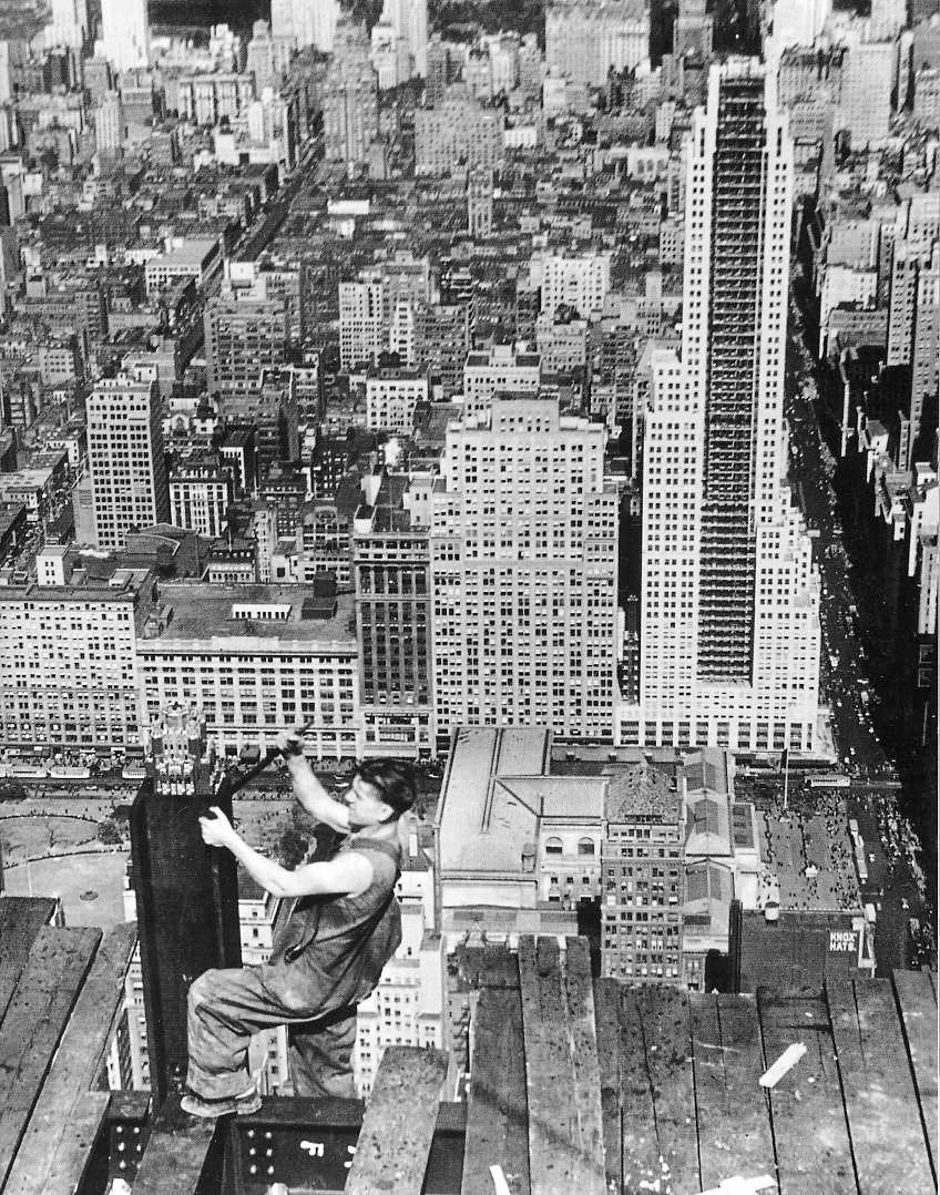 Lewis Hine - Empire State