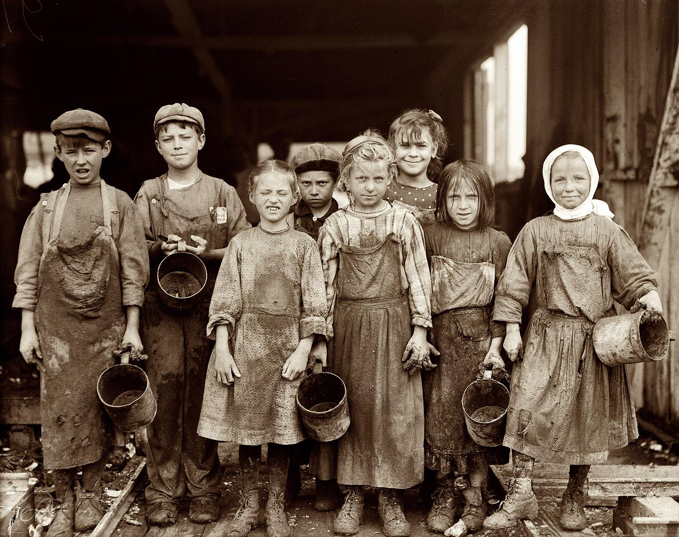 Lewis Hine - Trabajo infantil 2