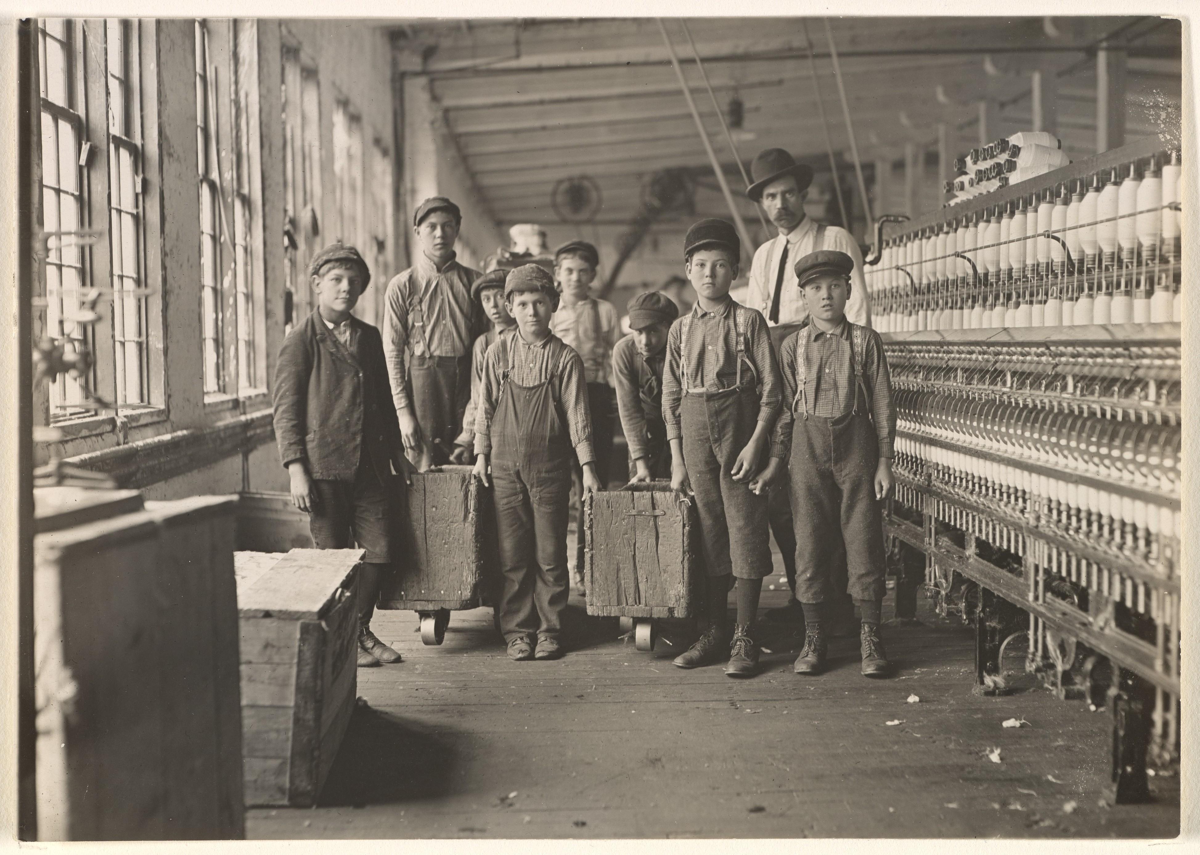Lewis Hine - Trabajo infantil