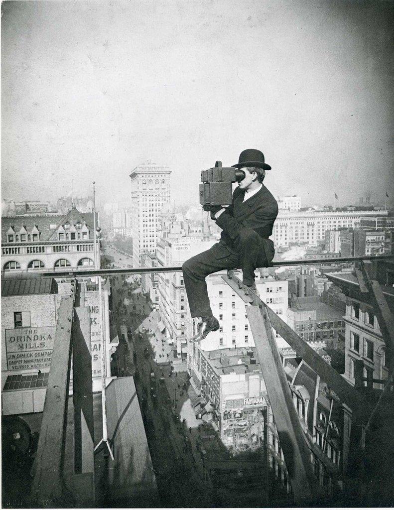 Lewis Hine - Fotografiando el Empire State
